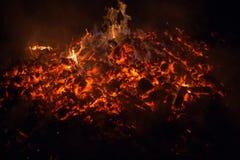 embers royalty-vrije stock afbeeldingen