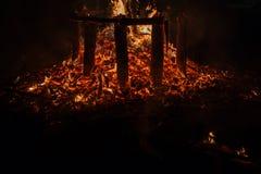 embers Стоковые Фотографии RF