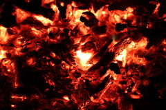 Embers Stock Photography