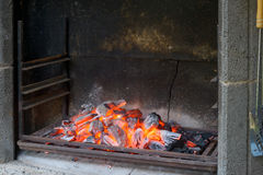 Embers Stock Images