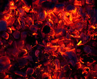 Embers Royalty Free Stock Images