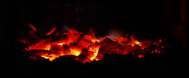 The embers Royalty Free Stock Image