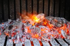 Embers. Stock Photos