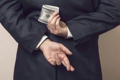 embezzlement royalty-vrije stock afbeelding