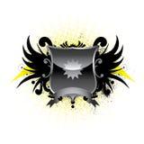 Emblème à ailes Photographie stock