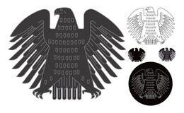 Emblème allemand Photographie stock