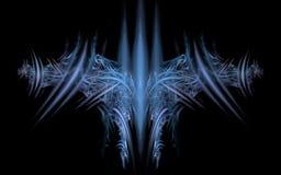 Emblème cosmique de l'avenir Photo stock