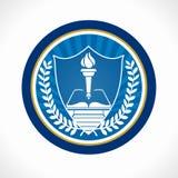 Emblème d'éducation Images libres de droits
