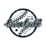 Emblème d'équipe de baseball Photo stock
