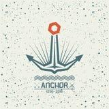 Emblème d'ancre Image libre de droits