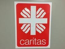 Emblème d'association de Caritas d'Allemand Images stock