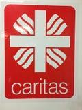 Emblème d'association de Caritas d'Allemand Image stock