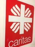 Emblème d'association de Caritas d'Allemand Images libres de droits