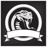 Emblème d'illustration de serpent illustration stock