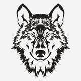 Emblème de boulon de loup Photographie stock
