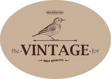 Emblème de calibre de vintage Photo libre de droits
