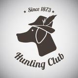 Emblème de chasse Image stock