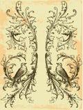 Emblème de cru illustration libre de droits