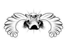 Emblème de cru illustration stock