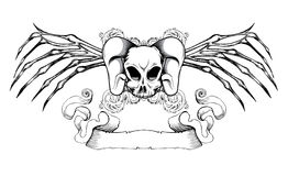 Emblème de cru Images libres de droits