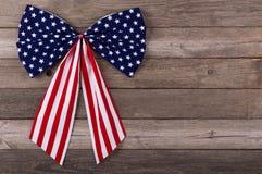 Emblème de drapeau américain Photographie stock libre de droits