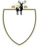 Emblème de forestier Image stock