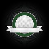 Emblème de golf Image libre de droits