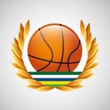 Emblème de Jeux Olympiques de base-ball Photo stock
