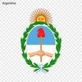 Emblème de l'Argentine illustration libre de droits
