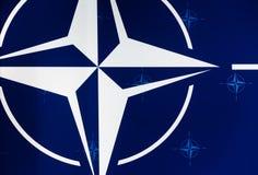 Emblème de l'Organisation du Traité de l'Atlantique Nord Photos libres de droits