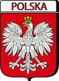 Emblème de la Pologne images libres de droits