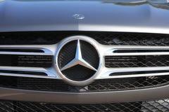 Emblème de Mercedes AMG Bi-turbo Image stock