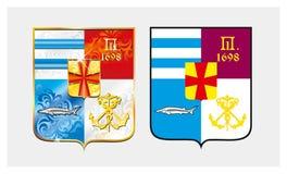 Emblème de Taganrog ville de la Russie Vecteur illustration libre de droits