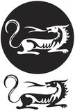 Emblème de tigre Photo stock