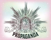 Emblème de vecteur Image libre de droits