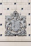 Emblème des Anglais a mari usque ad mare Image libre de droits