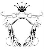 Emblème héraldique de cru Images stock