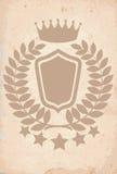 Emblème héraldique royal Photo libre de droits