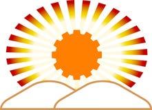 Emblème industriel Photo libre de droits