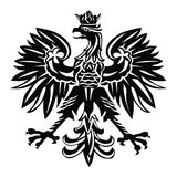 Emblème national de la Pologne Photo stock