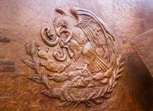 Emblème national du Mexique Images libres de droits