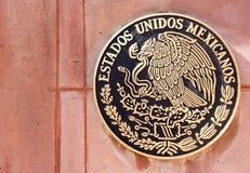 Emblème national du Mexique Photographie stock libre de droits