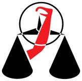 Emblème permissible Images libres de droits