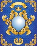 Emblème royal Images stock
