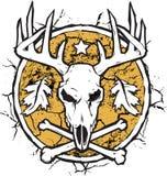 Emblème sec de la terre du chasseur Photographie stock libre de droits