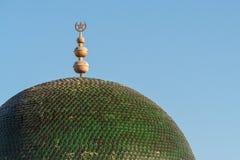 Emblème tunisien sur le toit Image libre de droits