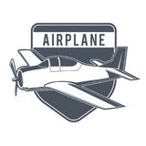 Emblèmes d'avion de vintage Images stock