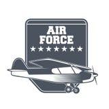 Emblèmes d'avion de vintage Image libre de droits