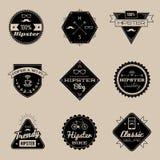 Emblèmes de Brown Illustration Libre de Droits