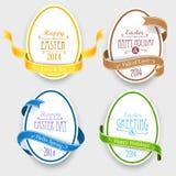 Emblèmes de Pâques Images libres de droits